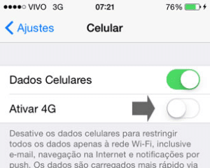 Como tirar o 3g do iPhone