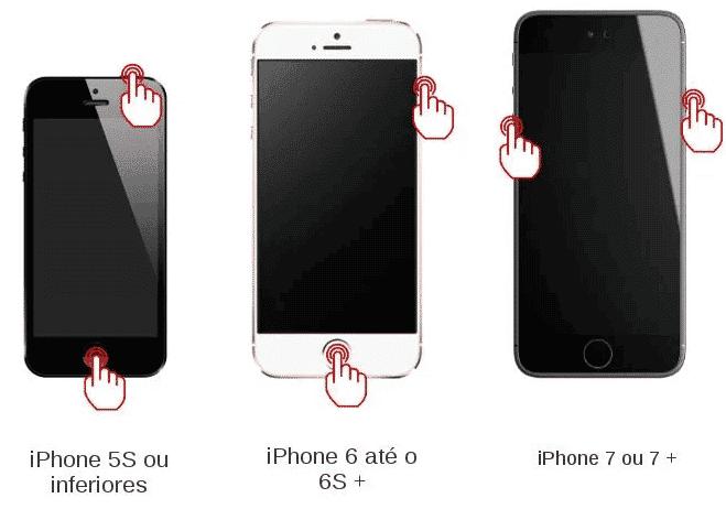 O que fazer quando o iPhone fica com a tela preta