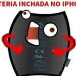 Bateria inchada no iPhone