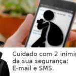 Perigo seu e-mail configurado no iPhone