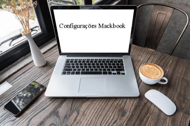 configuracoes mackbook