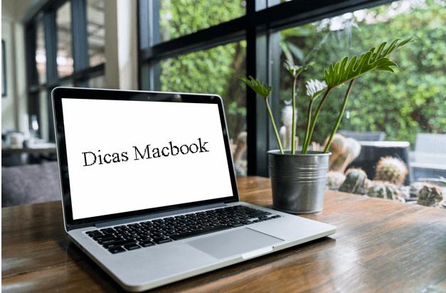 Configurações mackbook