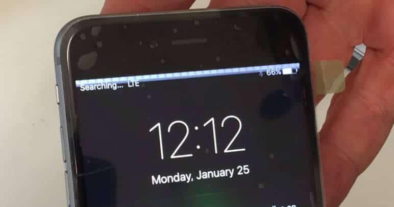 O que fazer quando o touch do iPhone para de funcionar