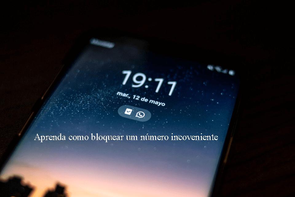 O que acontece quando você bloqueia um número no celular