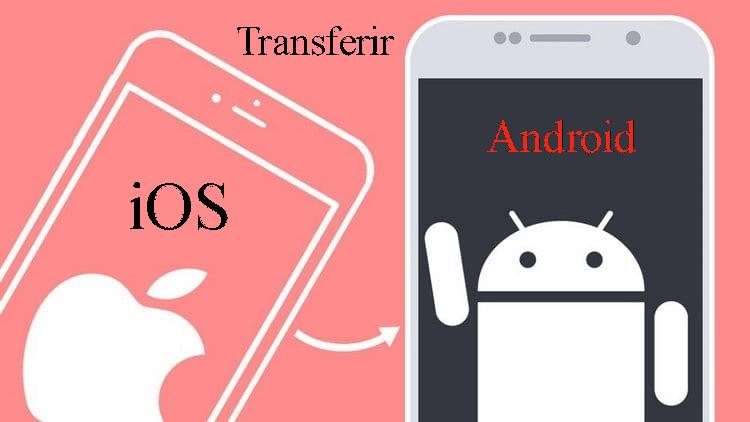 transferir dados ios para android