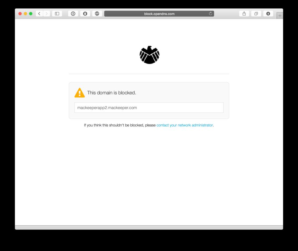 bloqueio de sites