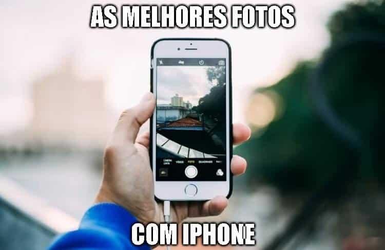 fotos com iphone