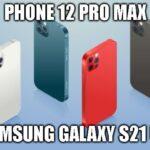 O Samsung Galaxy S21 Ultra é menos poderoso que o iPhone 12, e o iPhone 11