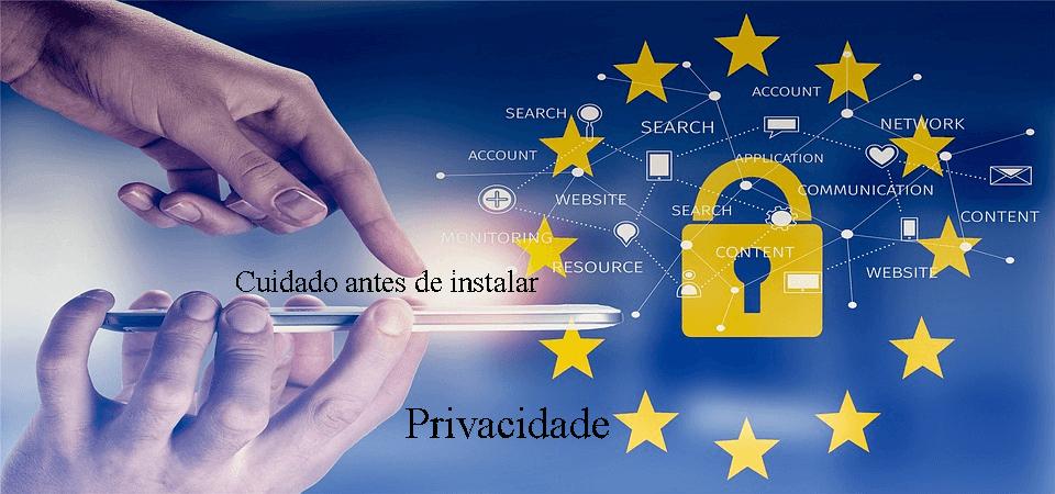 privacidade app