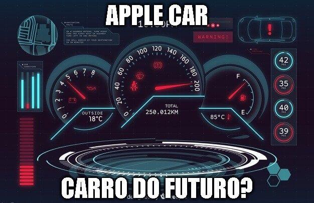 apple car carro do futuro