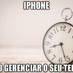 Aplicativos rastreamento de tempo usando iPhone
