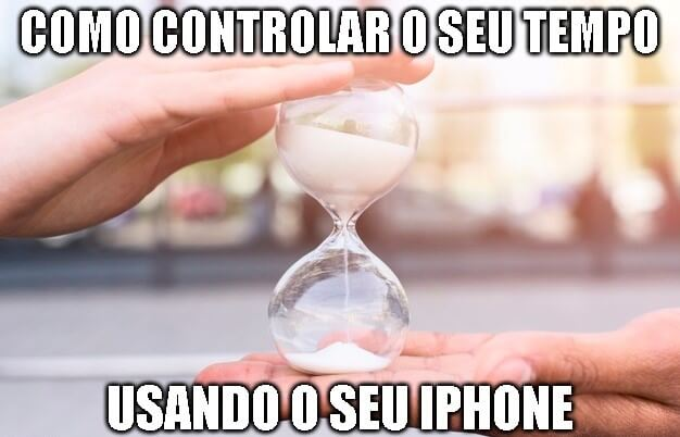iphone controla tempo
