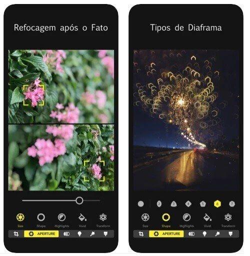 aplicativo de fotos
