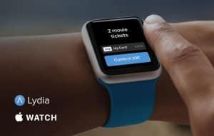 Lydia Apple Watch
